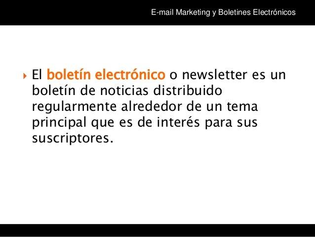 Tema 3 Curso Community Manager en el Tercer Sector (cm3sector): Newsletter Slide 3
