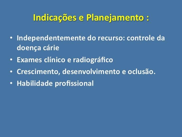Prótese em odontopediatria Slide 3