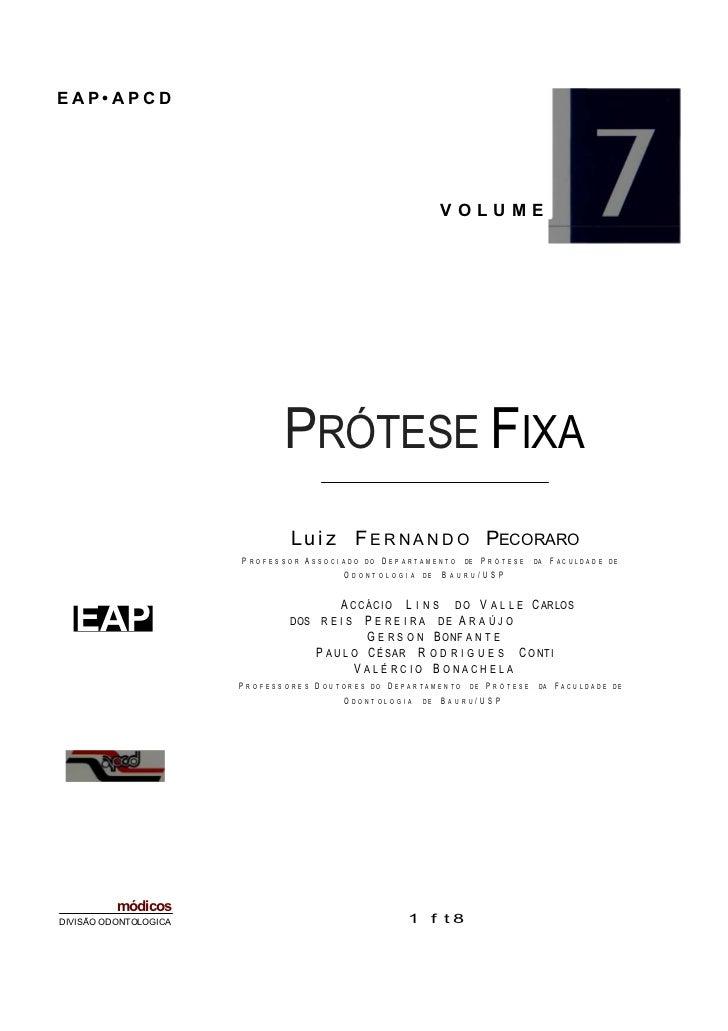 Livro Prótese fixa:  odontostation Slide 3