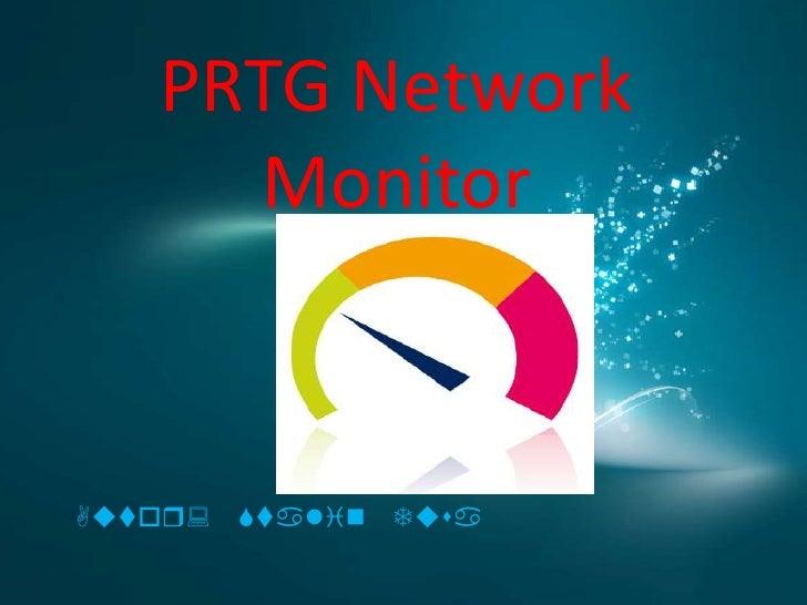 PRTG Network     MonitorAutor: Stalin   Tusa