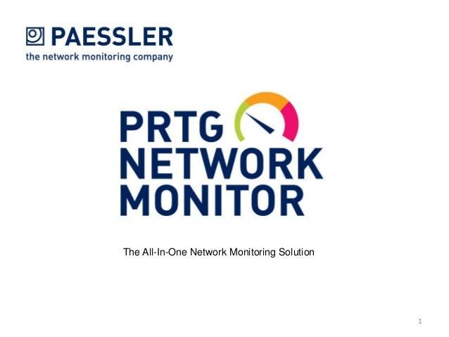 PRTG Network Monitor Presentation