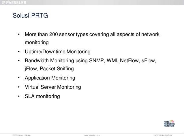 PRTG NETWORK MONITORING