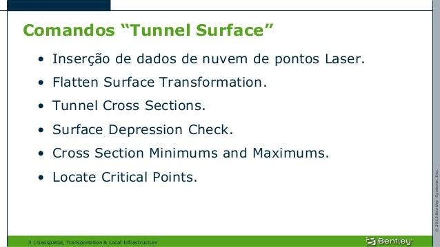 Análise de Túneis com Power Rail Track Slide 3