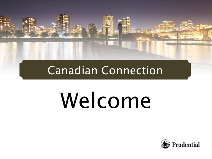 Canadian Connection  Welcome