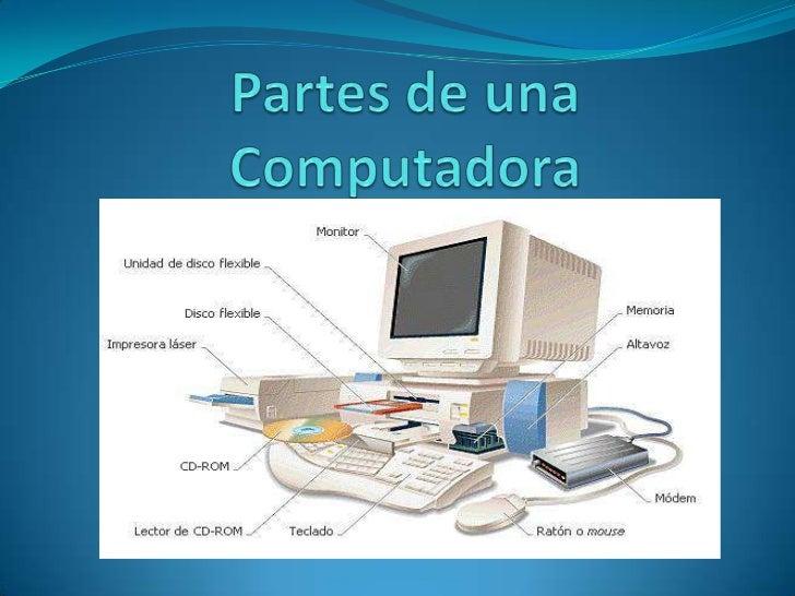 Partes de una Computadora<br />