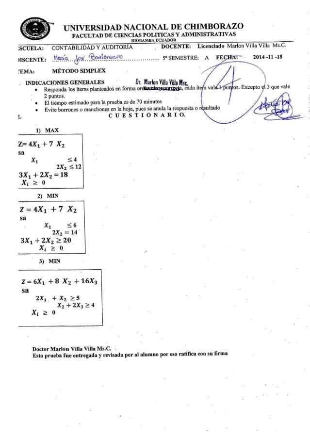 UNIVERSIDAD NACIONAL DE CHIMBORAZO FACULTAD m:  CIENCIAS POLITICAS v ADMINISTRATIVAS               RIOBAMBA ECUADOR  : SCU...