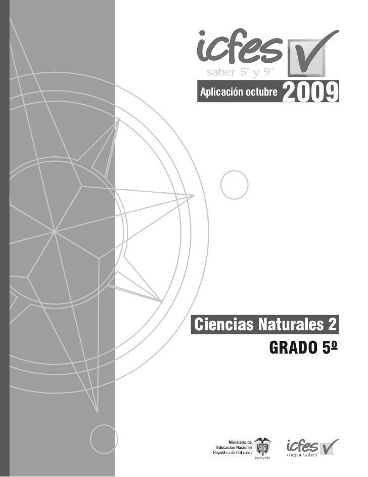Aplicación octubre                     2009Ciencias Naturales 2          GRADO 5º