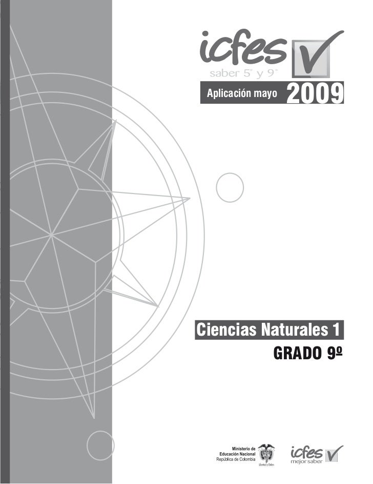 Aplicación mayo                   2009Ciencias Naturales 1          GRADO 9º