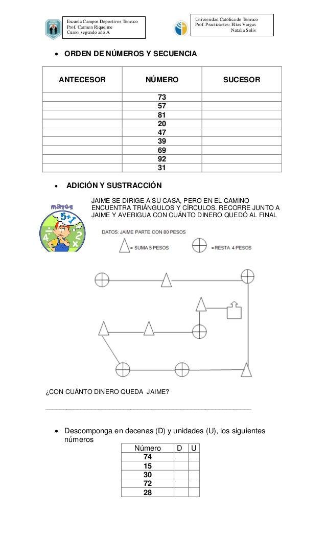 Prueba de diagnostico de educacion matematica segundo basico(1) Slide 2