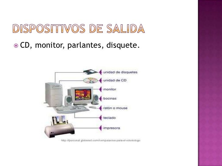  CD,   monitor, parlantes, disquete.