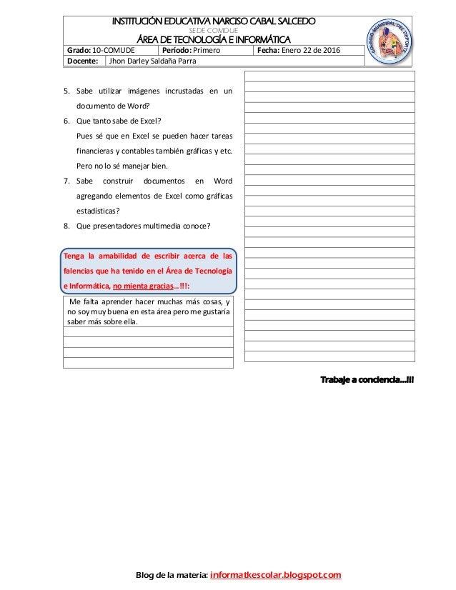 Prueba diagnostik 10comude 2016 for Prueba docente 2016
