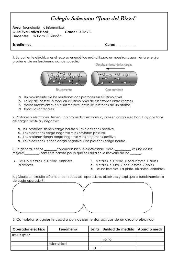 Circuito Basico Electrico : Circuito eléctrico