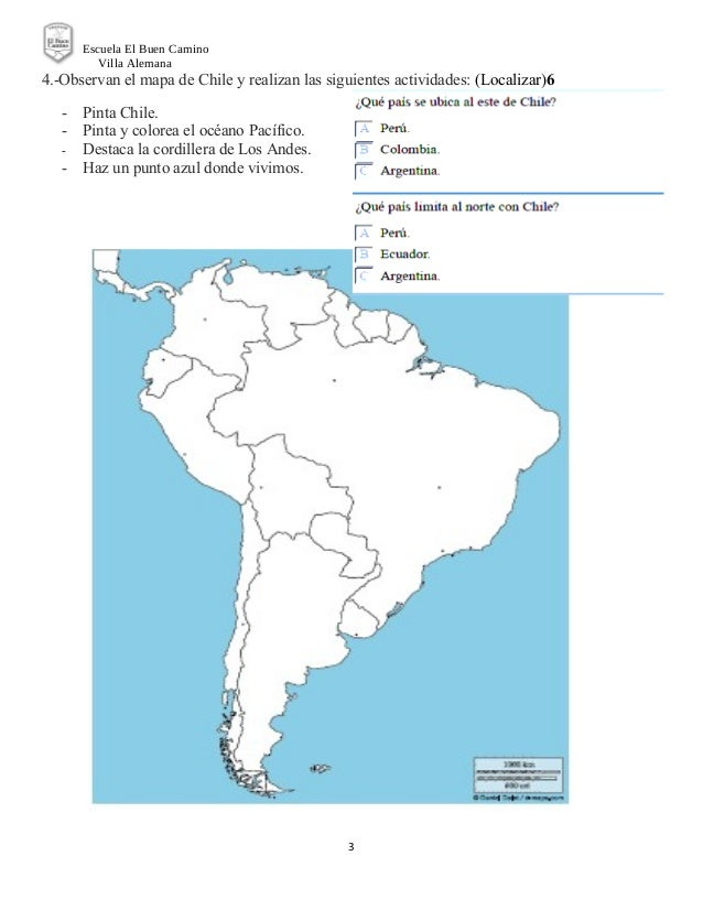 Prueba historia planos y mapas 2 basico Slide 3