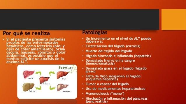 Por qué se realiza • Si el paciente presenta síntomas propios de las enfermedades hepáticas, como ictericia (piel y ojos d...
