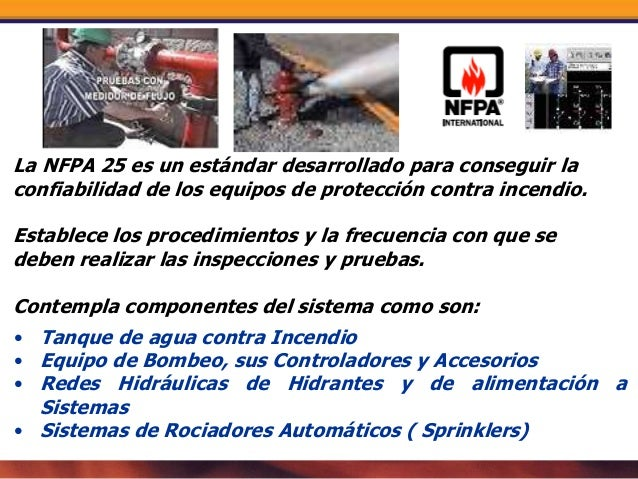 Pruebas a redes hidraulicas contra incendio - Sistemas de seguridad contra incendios ...