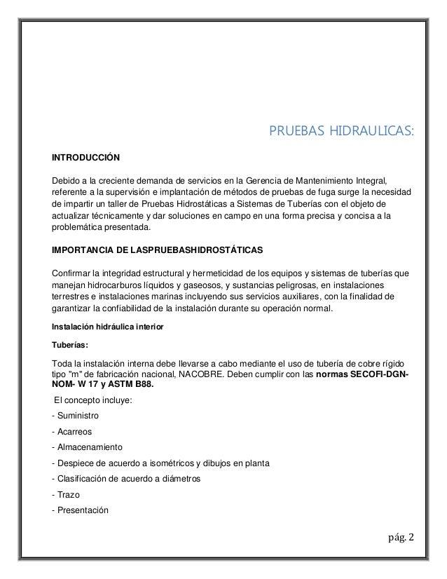Hermosa Plantilla De Informe De Tuberías Ornamento - Colección De ...