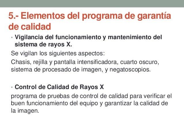 Pruebas de aceptaci n garant a y calidad de los rayos x for Cuarto de rayos x