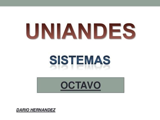 OCTAVO DARIO HERNANDEZ