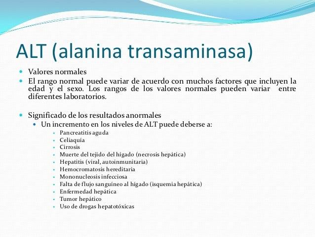 Pruebas de la función hepatica