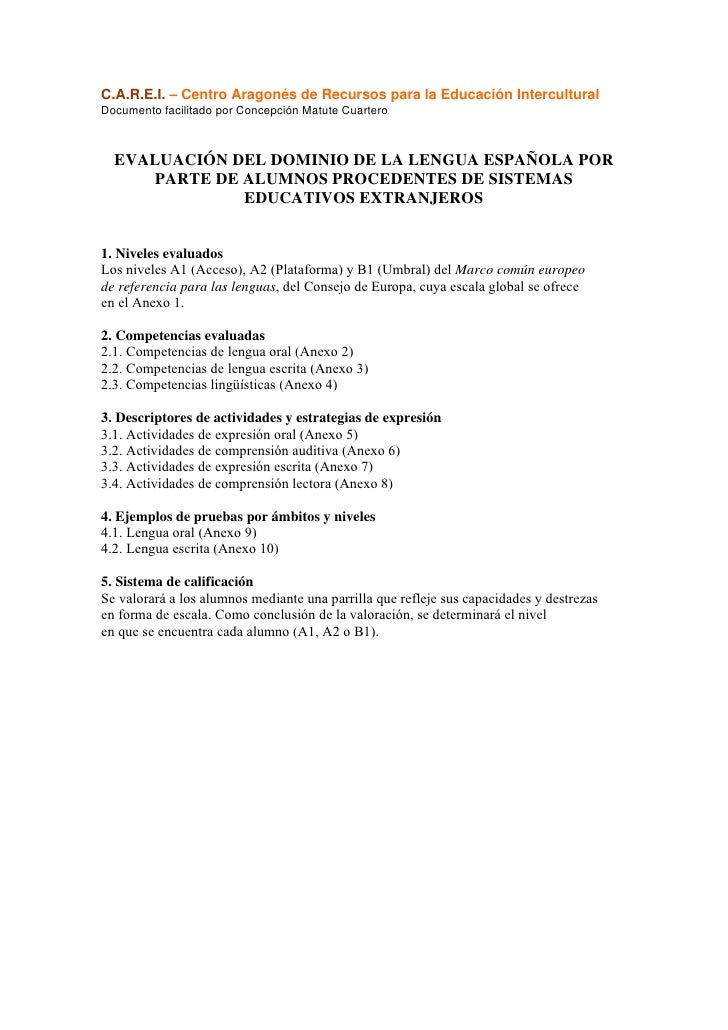 C.A.R.E.I. – Centro Aragonés de Recursos para la Educación Intercultural Documento facilitado por Concepción Matute Cuarte...