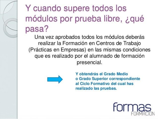 Pruebas Libres Fp Pais Vasco 2013