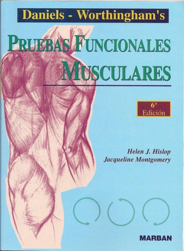 Pruebas Funcionales Musculares Daniels 6a Edicion