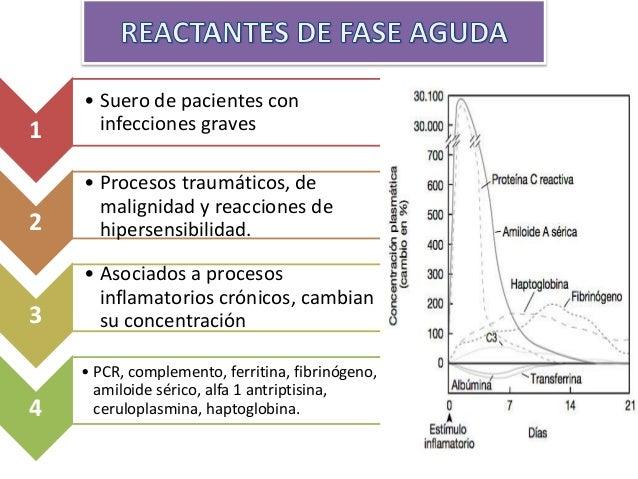 REACTANTES DE FASE AGUDA: VSG Y PCR De difere nte origen Establecer la severidad y la magnitud del compromiso inflamatorio...