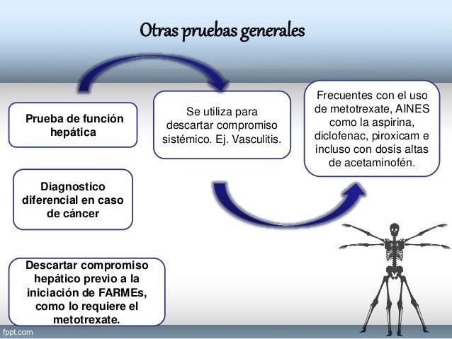 EXAMENES GENERALES REUMATOLOGICOS