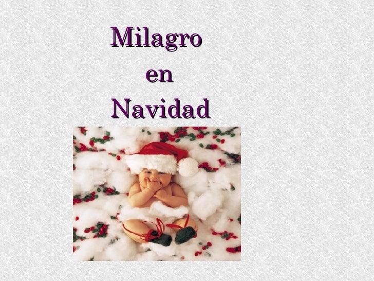 Milagro  en  Navidad