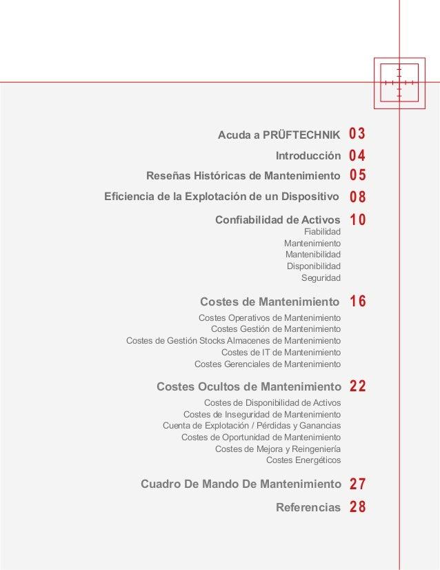04 05 08 10 22 27 28 16 03Acuda a PRÜFTECHNIK Introducción Reseñas Históricas de Mantenimiento Costes de Mantenimiento Ref...