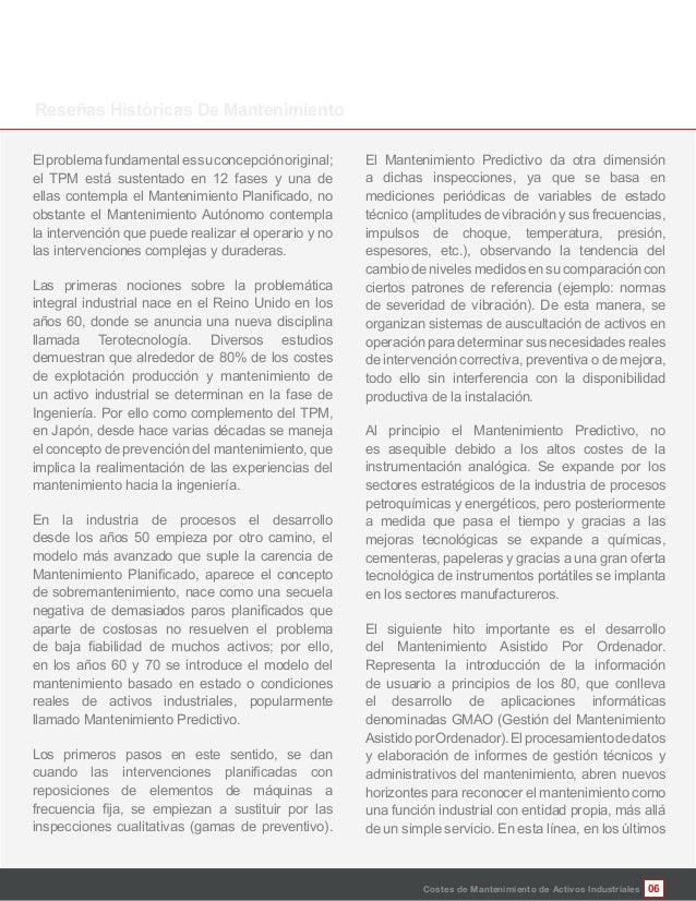 06 Elproblemafundamentalessuconcepciónoriginal; el TPM está sustentado en 12 fases y una de obstante el Mantenimiento Autó...