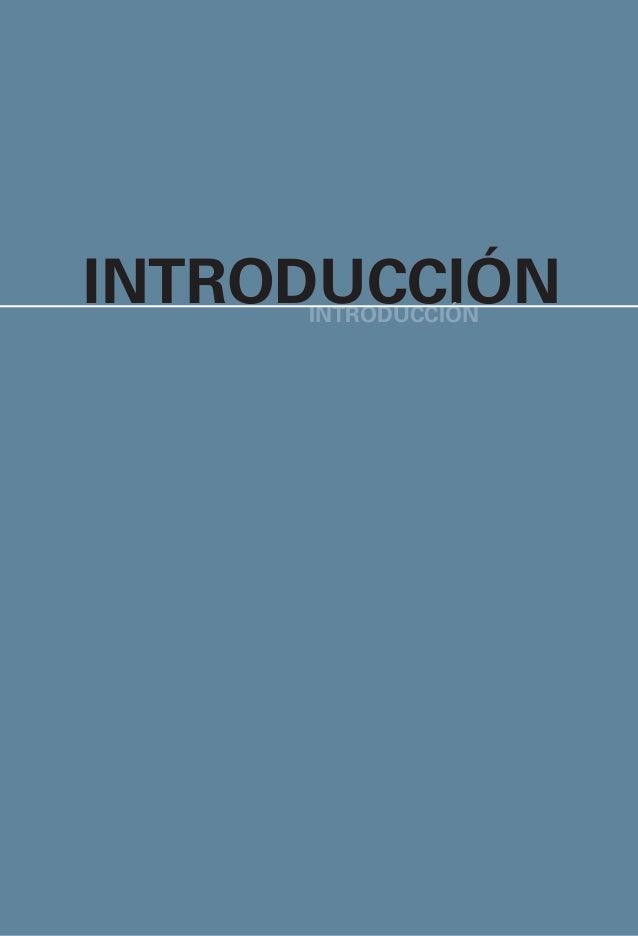 xviii ACDI, IDEA, OEA, PNUD INTRODUCTION 1 INTRODUCCIÓNINTRODUCCIÓN