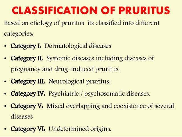 pruritis