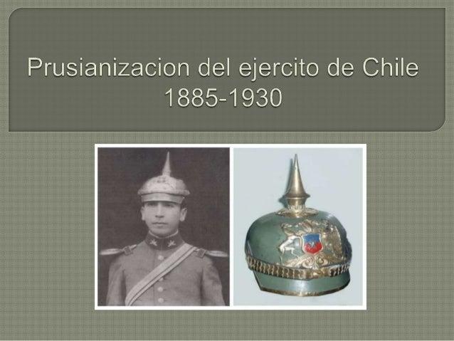 •  •  El siglo XIX seria un siglo de guerras para Chile, partiendo primero por la Independencia, la cual comenzada en 1810...