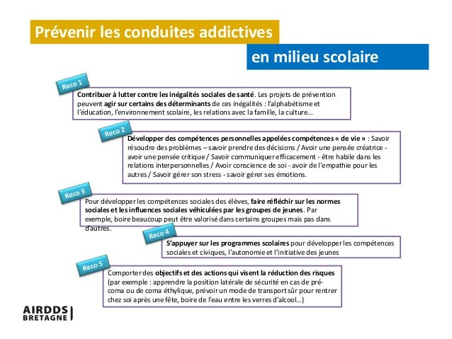 pr u00e9vention des conduites addictives milieu scolaire