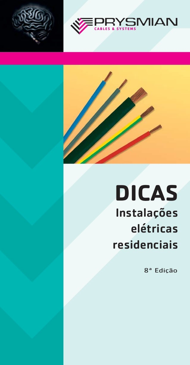 DICAS Instalações elétricas residenciais 8ª Edição