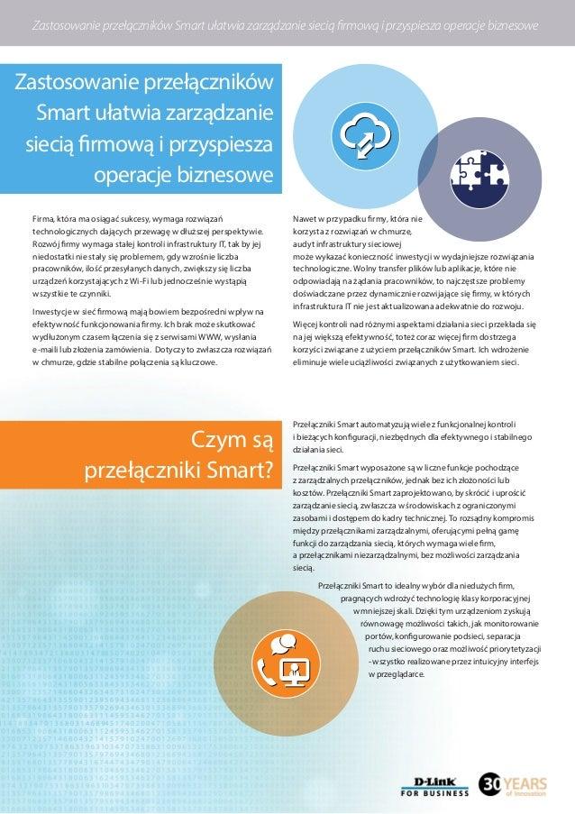 Zastosowanie przełączników Smart ułatwia zarządzanie siecią firmową i przyspiesza operacje biznesowe Czym są przełączniki ...