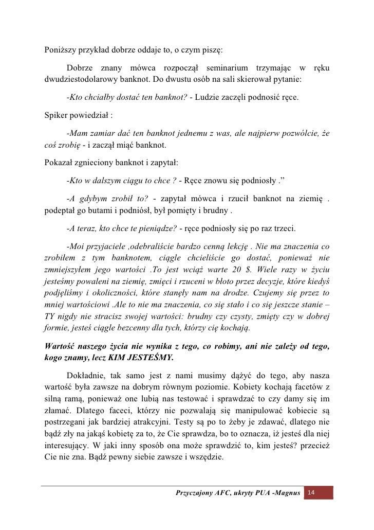 Poniższy przykład dobrze oddaje to, o czym piszę:       Dobrze znany mówca rozpoczął seminarium trzymając w ręku dwudziest...