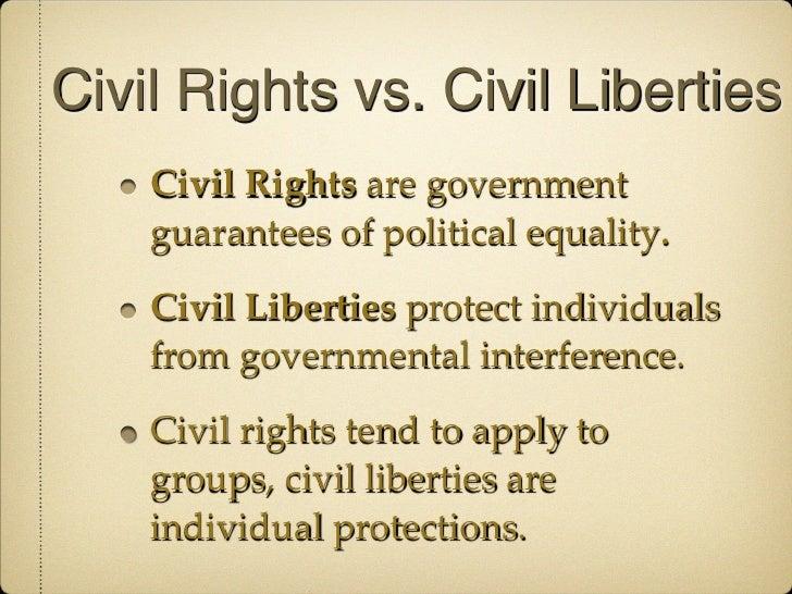 PS 101 Civil Liberties & Civil Rights