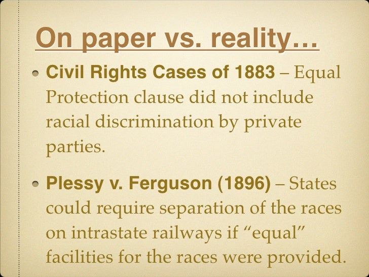 Essay on civil rights vs civil liberties