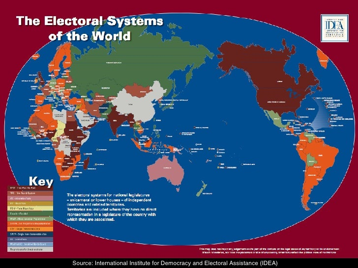 electoral systems in democratic nations Electoral politics in southeast and east asia: a comparative perspective and electoral systems contribute to democratic development.