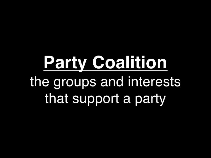 fundamental goal of interest groups and political parties Political parties, interest groups, and mass describe two different ways by which interest groups support the fundamental goal of political parties in.