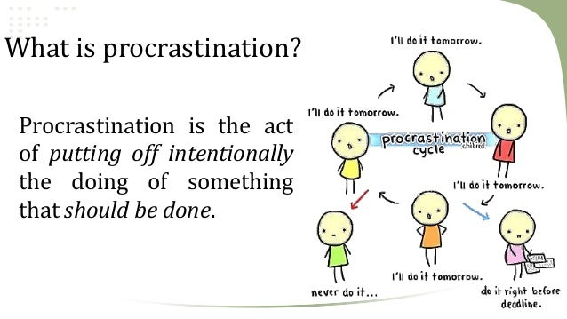 Sermon on Procrastination - Stop Putting Things Off ...