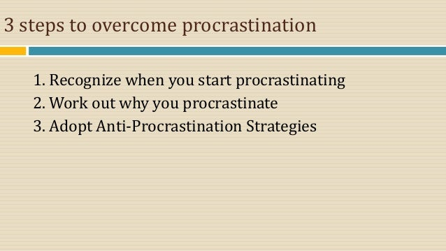 Procrastination: Conquering the Time Killer - A Christian Cure