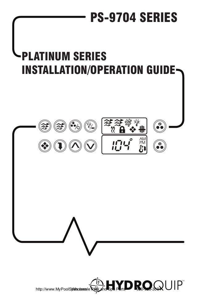 PS-9704 SERIESPLATINUM SERIESINSTALLATION/OPERATION GUIDE                                                           2     ...