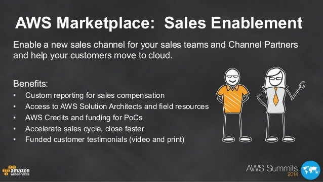 AWS Marketplace: Sales Enablement Enable a new sales channel for your sales teams and Channel Partners and help your custo...