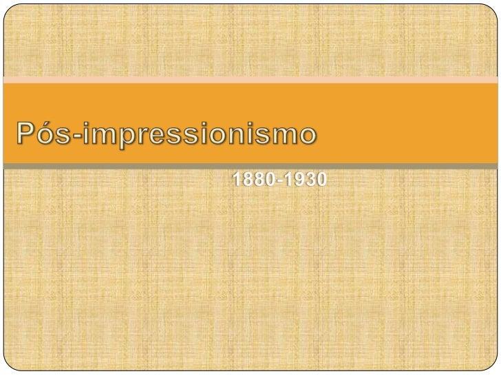Pós impressionismo