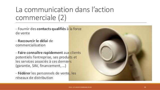 La communication dans l'action commerciale (2) - Fournir des contacts qualifiés à la force de vente - Raccourcir le délai ...