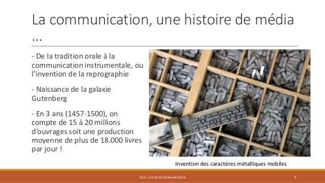 La communication, une histoire de média … - De la tradition orale à la communication instrumentale, ou l'invention de la r...