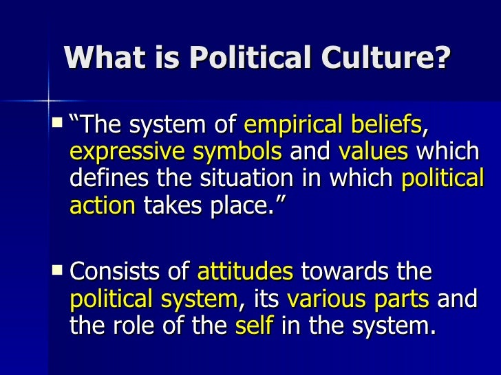 political culture in the philippines The philippines proudly boasts to be the only christian nation in asia more than 86 percent of the population is roman catholic, 6 percent belong to various nationalized christian cults.
